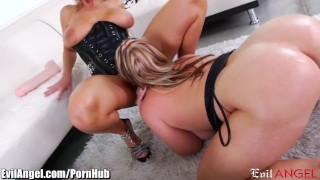 Pussies milfs evilangel naughty stretch squirt and heels on