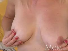 Hot blonde bubble butt