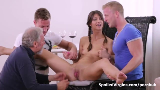 Virgin blue online check in - Virgin marisa looses virginity with two guys after doctor check