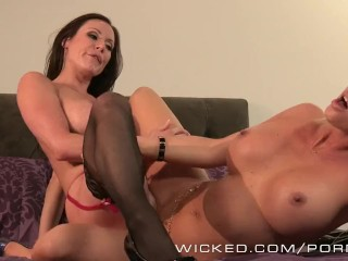 Wicked – Two sexy milfs have some fun