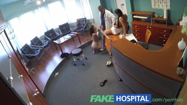 Doctor sucking patients cock mpg Fakehospital doctor enjoys both nurse and patient sucking and fucking his c
