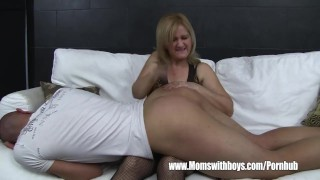 Sofa porn mature on with fucks him catching maid son after fucking momswithboys