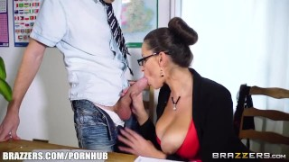 Milf fucked gets teacher jane hot brazzers blowjob tits