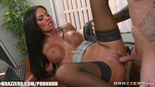 Fucking some solis gets elicia brazzers office boobs raven