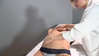 Sadie Holmes Pregnant - Doctor helps her patient to reach Orgasm Young toys