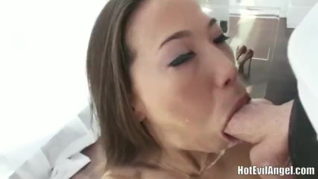 Blowjob Spitty Ebenholz Sloppy Sloppy Spitty