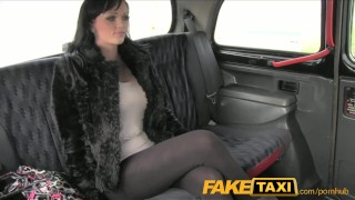 Preview 1 of FakeTaxi Big tits babe gives cabbie a blowjob