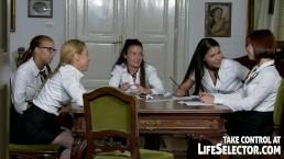 Schoolgirls' kinky stories