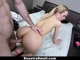 ExxxtraSmall – Skinny Alina West Fucking Her Step Brother