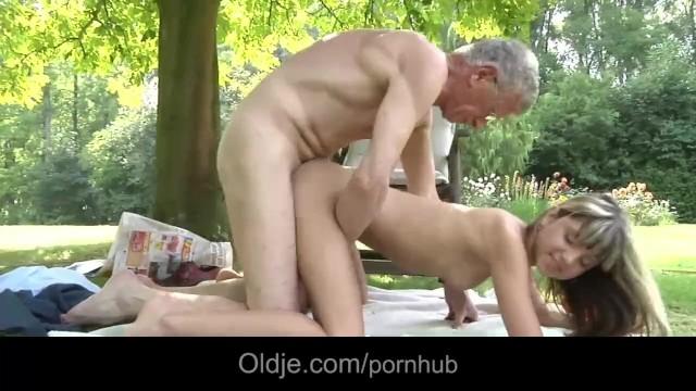 Old Man Fucks Teen Hotel