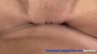 Big Tit Penny's 1st Fuck N Cum on Excogi Deepthroating ass