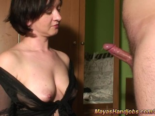 Free videos of slow handjob cfnm