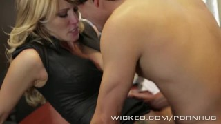 Wicked - Hot Milf Jessica Drake loves cock Bj young