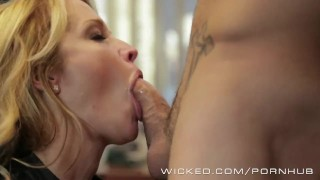Wicked - Hot Milf Jessica Drake loves cock Pussy party