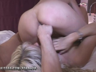Threesome with a milf...