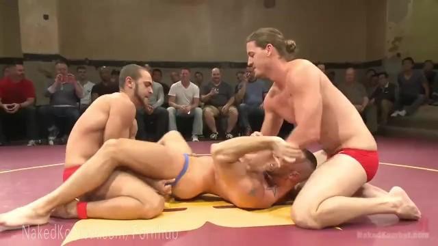 Live Muscled Hunks Wrestling Match - Pornhubcom-2228