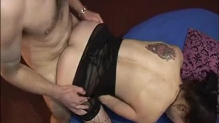 Sucks pornstar gangbang dick gets titted in dani a and big fuicked amour tits big