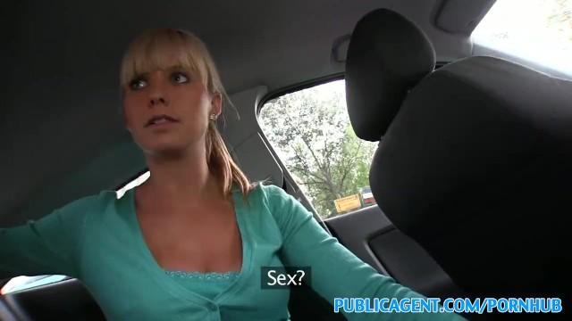 Public Agent British Blonde