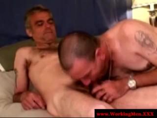 Gay amateurs sucking cock like pros...