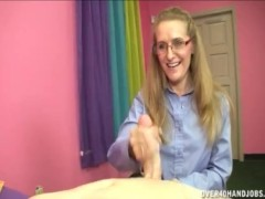Horny Blonde Milf Loves This Young Cock