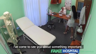 FakeHospital Doctors cock and the promise of a pay rise stop sexy nurse