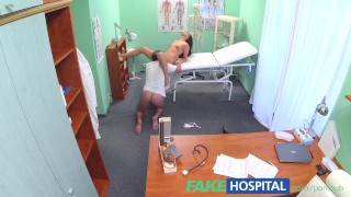 Fakehospital a nurse cock doctors and stop rise pay promise sexy of the hidden spying