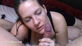 Sensual cock massage massage cum
