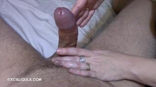 Sensual Cock Massage porno