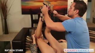 Gives blonde blowjob gorgeous starr natalia hard blow