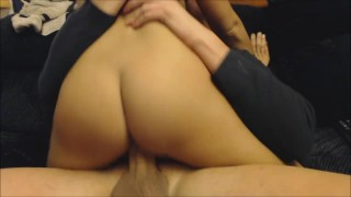 Christmas sexy and girlfriend anal deepthroat gives for deepthroat dick