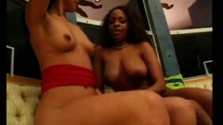 Ebony Pussy licking and threesome with BBC Big Black Cock!