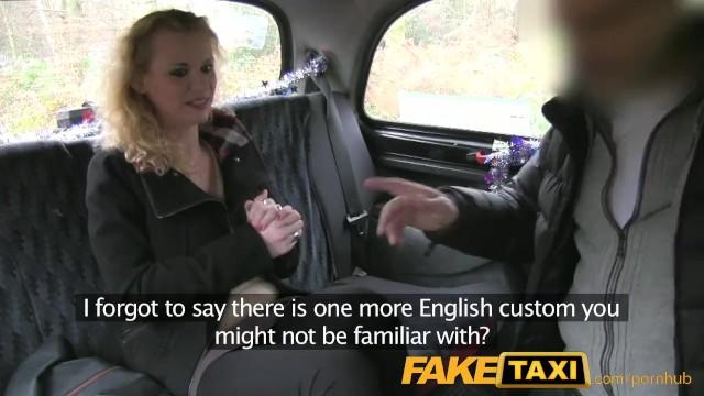 Falso taxi anale porno