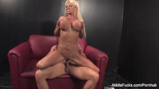Nikita Von James gets fucked by Nick Manning