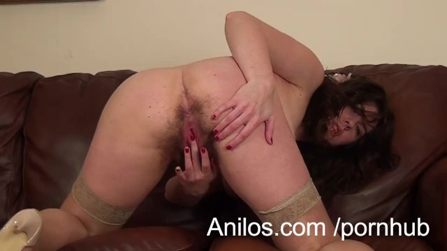 Hairy wet beaver movie First time milf makes her hairy snatch cream