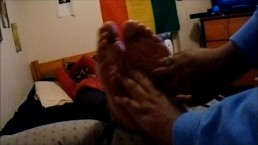 Yellow Bone Tickled - Ticklish Soles (Preview)