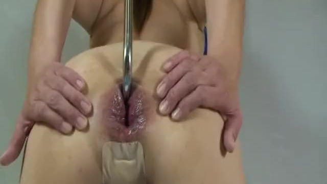 Bizarre insertion pussy Bizarre anal fish hook and monster dildos insertions