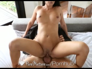 HD - PureMature Nikki Daniels is pounded by cock with creampie
