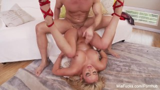 Mia Lelani gets fucked hard
