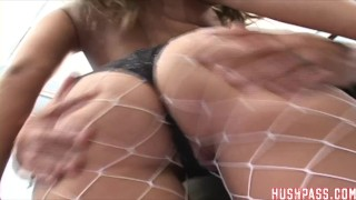 Big Fat Assed Giavanna takes it UP the Ass!