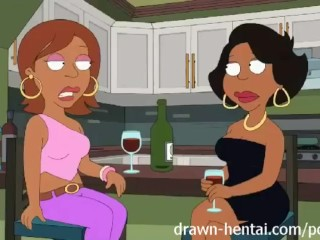 Cleveland Show Hentai - Night of fun for Donna