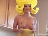 Abigail Mac on the porn set