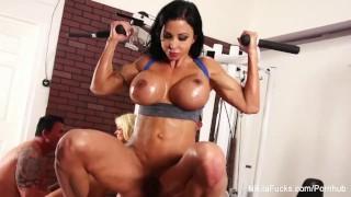 Workout nikita von some james tits oral