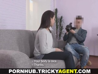 Tricky Agent - Shy cutie fucks like a slut