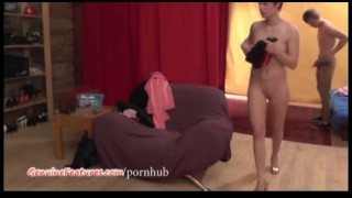 Two nasty czech hotties show their bodies at the CASTING