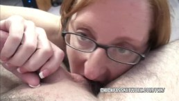 Mature swinger Layla Redd is sucking a stiff cock