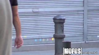 Mofos - Dude spies on couple fucking
