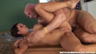 After fucked hot titty teacher class gets titty big