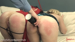 Nasty ass to mouth for anal BDSM sluts
