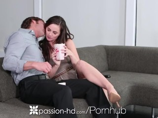Preview 1 of HD - Passion-HD Lily Carter ass fucked in her own hardcore movie