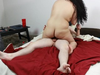 Daisy Dabs gets Naughty 5: 420 Teen rides & Sucks Cock, gets Cum on Pussy